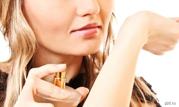 Дегустация парфюма на промо-акции