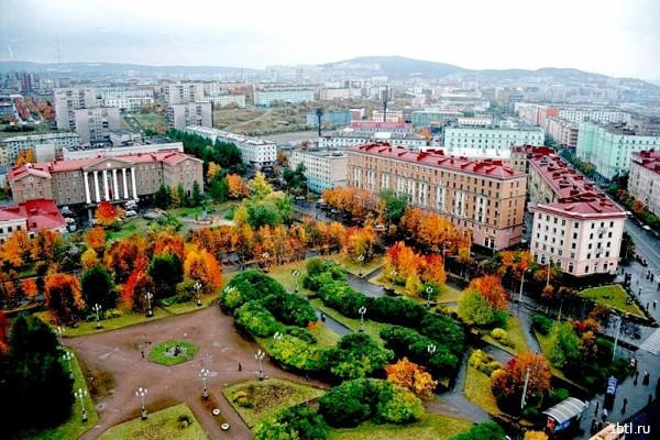 Раздача листовок Мурманск