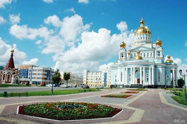 Раздача листовок Саранск