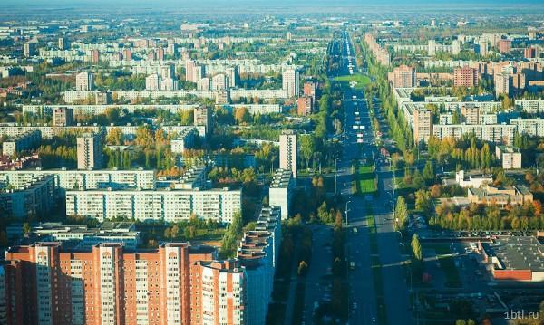 Раздача листовок в Тольятти