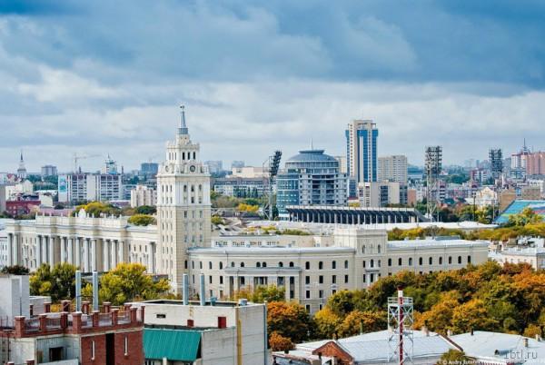 Раздача листовок в Воронеже
