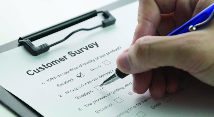 Анкетирование услуги