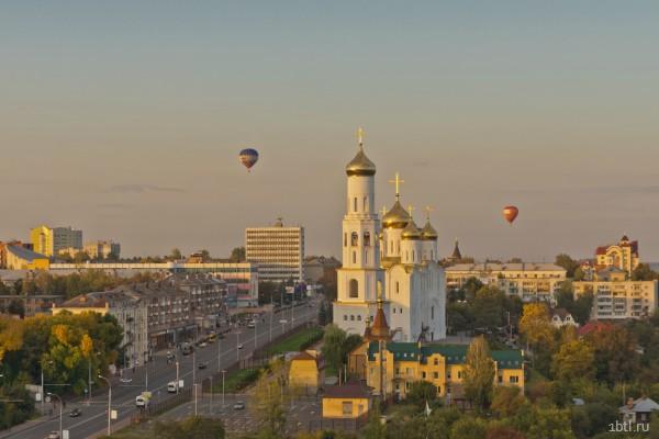 Раздача листовок Брянск