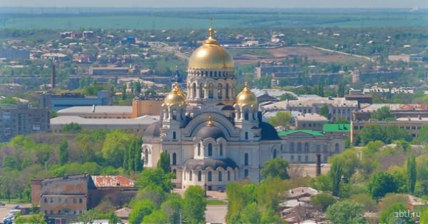 Раздача листовок в Новочеркасске